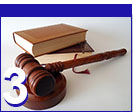 law books and gavel icon