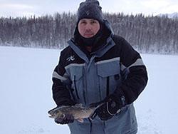Photo of Scott Knight Ice Fishing